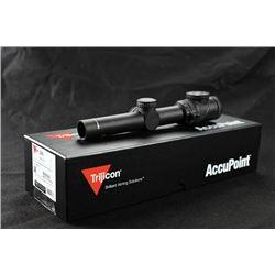 WED-05 Trijicon AccuPoint 1-6 x 24 Rifle Scope w/BAC