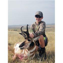 THD-12 Archery Antelope Hunt, Wyoming