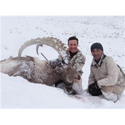 THD-25 Mid-Asian Ibex Hunt, Tajikistan