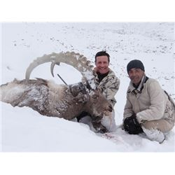 THD-25 Mid-Asian Ibex Hunt, Tajikistan