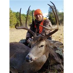 FB-10 Muzzleloader Whitetail Deer Hunt, Oklahoma