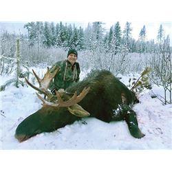 FB-20 Shiras Moose Hunt, British Columbia