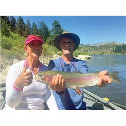 SB-03 Guided Fly Fishing Trip for TWO Anglers, Montana