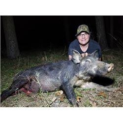 SLA-08 Wild Boar Hunt, Oklahoma