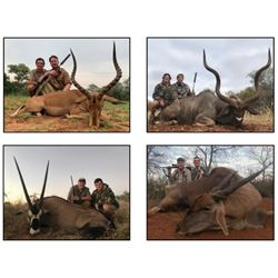 SLA-27 South Africa Safari for FOUR Hunters