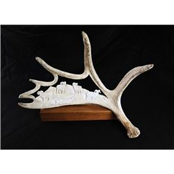 SLA-46 Grand Slam Moose Antler Carving