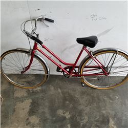 RED SCHWINN BIKE