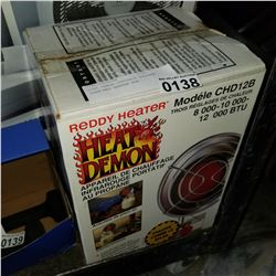 HEAT DEMON PORTABLE PROPANE INFA-RED HEATER BOX