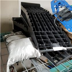 PLASTIC CAR RAMPS AND CAR COVERS