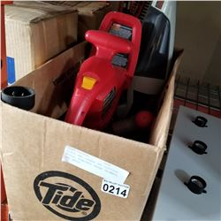 BLACK AND DECKER VPX CORDLESS TOOLS, ELECTRIC HEDGE TRIMMER, AND DRILL