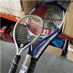 LOT OF TENNIS RACQUETS