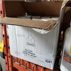 BOX OF CHEM SAFE RAM TACK SPRAY ADHESIVE