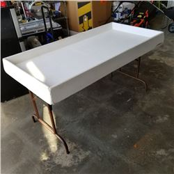 5FT FIBERGLASS FOLDING LEG TABLE