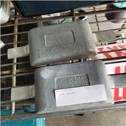 2 BOAT ANODES