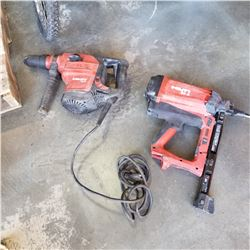HILTI GX2 AND HILTI TE 56 - BOTH WORKING