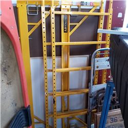 YELLOW SCAFFOLD SECTION