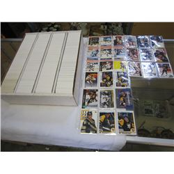 GRETZKY, LEMIEUX, AND BURE CARDS W/ BOX OF HOCKEY CARDS
