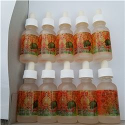 10 BOTTLES OF 30ML VAPE JUICE WATERMELON MINT SHISHA