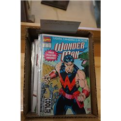 BOX OF 40 COLLECTIBLE COMICS