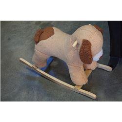 CRAYOLA KICK WHITEBOARD BLACKBOARD EASEL AND ROCKING DOG