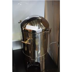 STAINLESS DOME TOP FOOD WARMER
