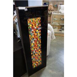 FRAMED CUBE ART SHADOW BOX