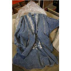 JEAN JACKET AND DRESS