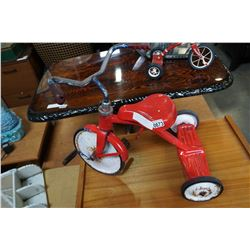 RED METAL KIDS TRICYCLE