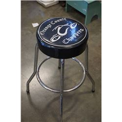 ORANGE COUNTY CHOPPERS STOOL