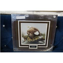 "ROBERT BATEMAN ""VANTAGE POINT"" PRINT"