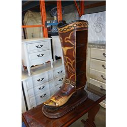 3-1/2FT COWBOY BOOTS SHELF