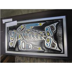 ETCHED FIRST NATIONS ART