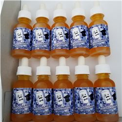10 BOTTLES OF 30ML VAPE JUICE BERRY MARSHMALLOW