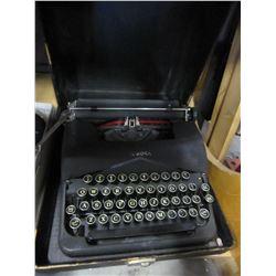 BLACK CORONA TYPE WRITER
