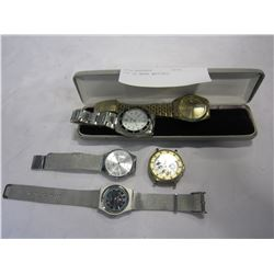 LOT OF MENS WATCHES