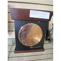 CLARENCE WELLS EMBOSSED FIRST NATIONS BOX