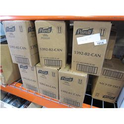 7 BOXES OF PURELL HAND SANITIZING FOAM