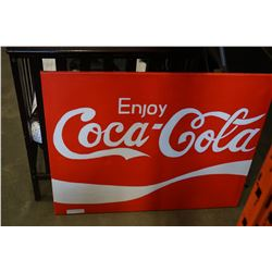 COCA-COLA PICTURE ON CANVAS