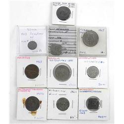 Estate Lot (10) World Coins
