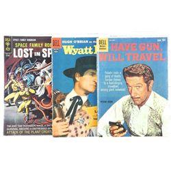 Lot (3) Vintage Comics: dell, Gold Key Price: 10 c