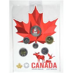 2018 Canada Far and Wide UNC Coin Set