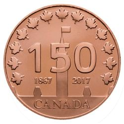 2017 Canada 150 Logo Bronze Medal