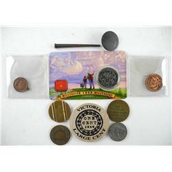 Estate Lot of Coins, Etc.