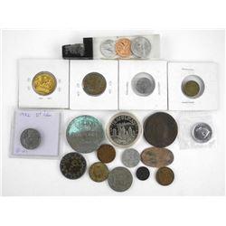 Estate Bag Lot Misc. Coins etc