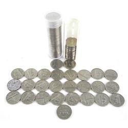 Estate Lot - Canada 5 Cents George etc
