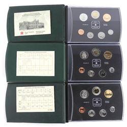Lot (3) RCM Specimen Sets 1998, 2000, 2003