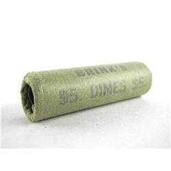 1973 Original Brinks Roll 10 Cents