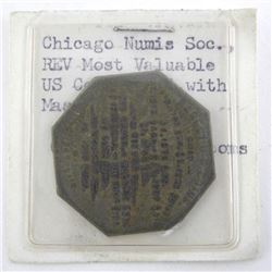 Chicago Numis Soc. REV Most Valuable US Coins Tied