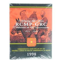 1998 Silver Dollar Gift Set Mint Sealed RCMP