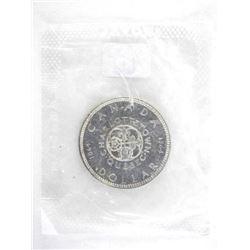 1964 Canada Silver Dollar